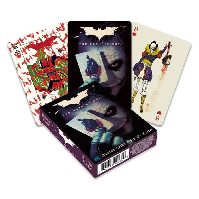 hrací karty Joker - The Dark Knight - NMR52530