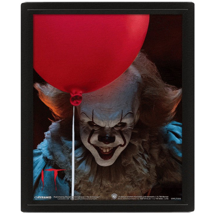 obraz PYRAMID POSTERS Pennywise EVIL