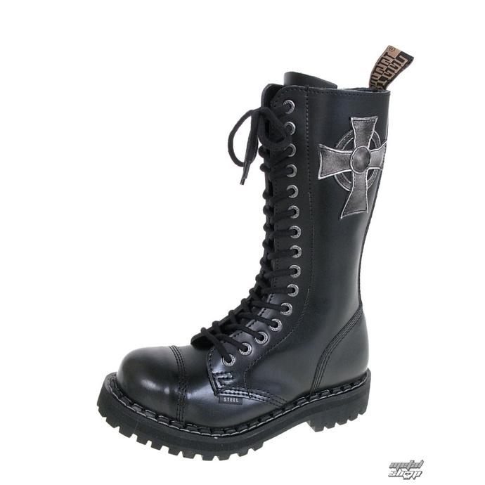 Boty Steel - 3 i 20ti dírkové (http://www.blackstyle.cz)