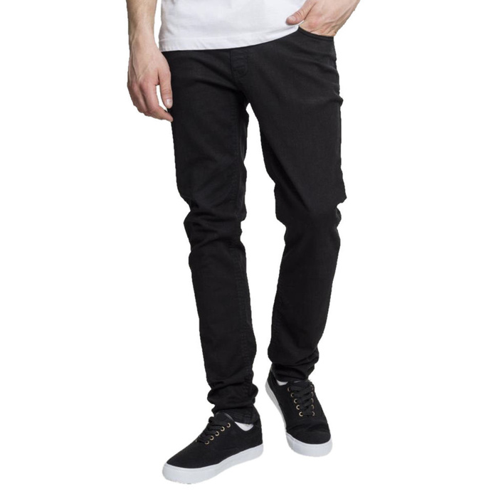 kalhoty jeans URBAN CLASSICS Basic Stretch Twill 5 Pocket 30