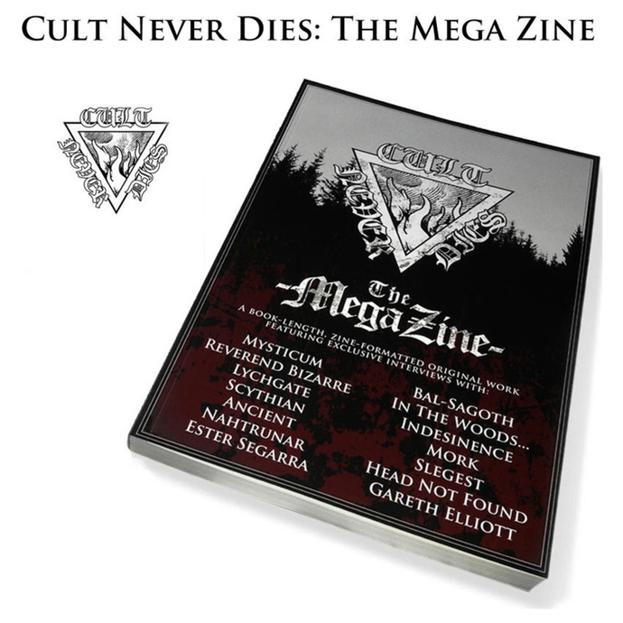 kniha Cult Never Dies: The Mega Zine (signed) - CULT004