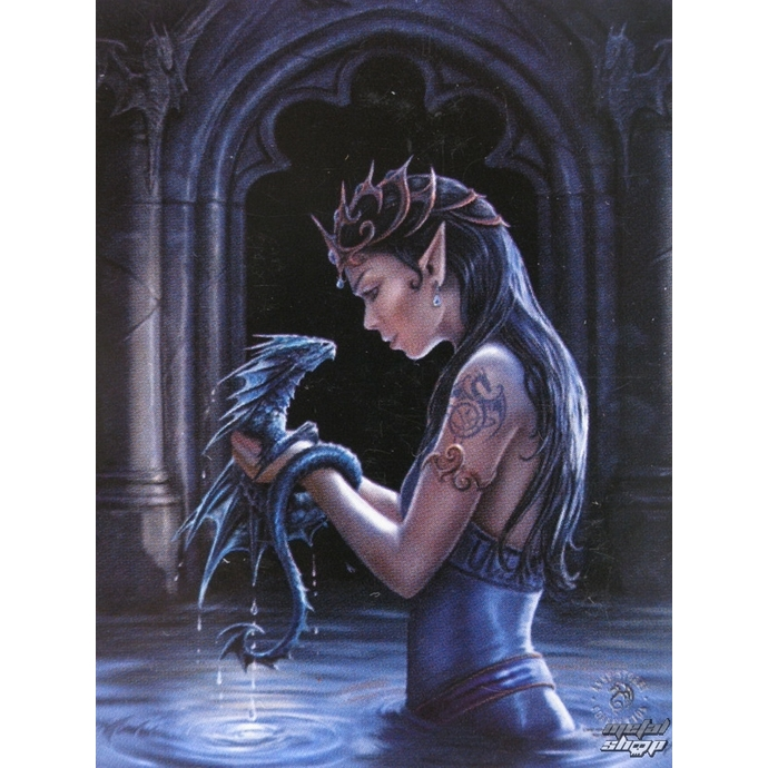 ANNE STOKES Anne Stokes Water Dragon