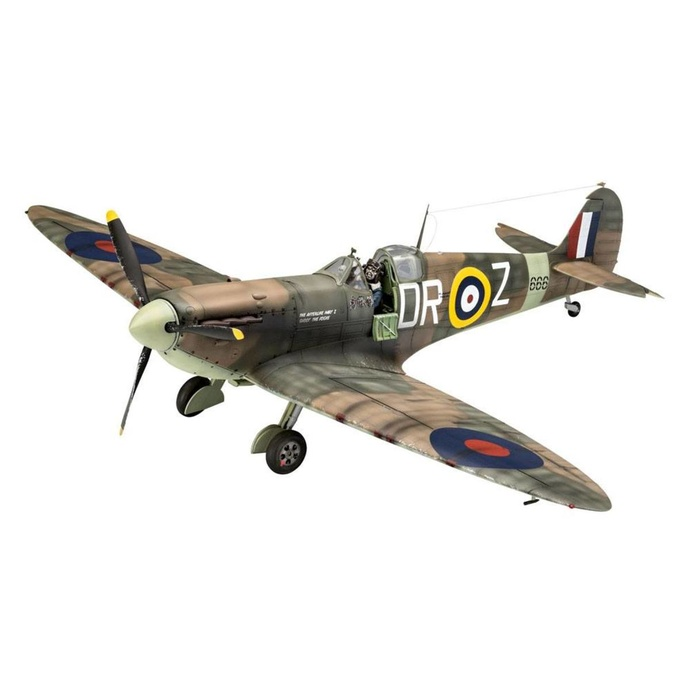 figurka skupiny NNM Iron Maiden Model Kit 132 Spitfire Mk.II