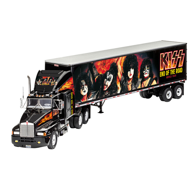 figurka skupiny NNM Kiss Model Kit 132 Tour Truck