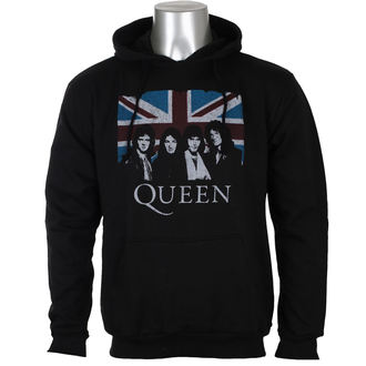 mikina pánská Queen - Vintage Union Jack - ROCK OFF, ROCK OFF, Queen