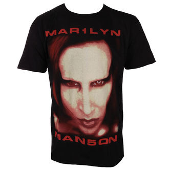 tričko pánské Marilyn Manson - Bigger Than Satan - ROCK OFF, ROCK OFF, Marilyn Manson