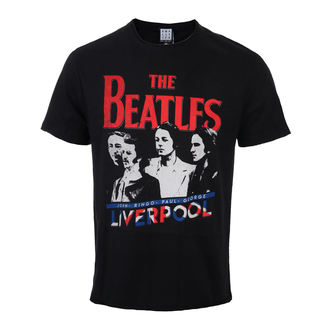 tričko pánské The Beatles - Liverpool - Black - AMPLIFIED - ZAV210BUJ, AMPLIFIED