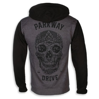 mikina pánská Parkway Drive - Skull - Charcoal Grey - KINGS ROAD - 20101381, KINGS ROAD