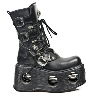 boty NEW ROCK - 373 ITALI  NOMADA NEGRO NEW SPACE - M.373-S2