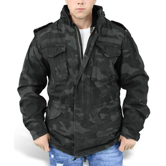 bunda pánská SURPLUS - Regiment M65 - BLACK CAMO, SURPLUS