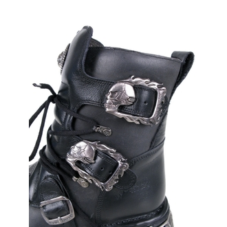 boty NEW ROCK - Cross Shoes (407-S1) Black-Grey