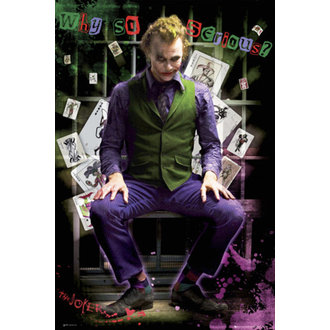 plakát - Batman (Dark Knight) - Joker Jail - FP2100 - GB posters