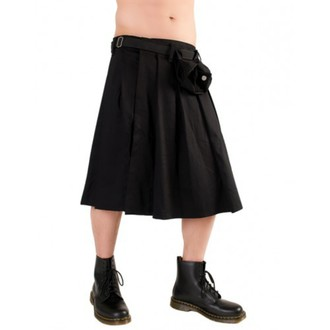 kilt Black Pistol - Short Kilt Denim Black - B-2-10-001-00