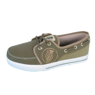 boty GRENADE - Boat shoes - GREEN