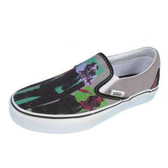 boty VANS - Classic Slip-on (Rise Against Man) - GRY/BLK, VANS, Rise Against