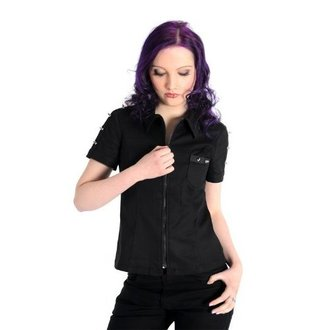 košile dámská Aderlass - Prick Blouse Denim Black - A-4-26-001-00