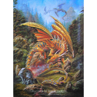 vlajka Dragons of the Runering HFL 424, HEART ROCK