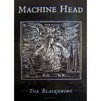 vlajka Machine Head 'The Blackening', HEART ROCK, Machine Head