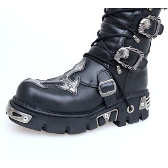 Boty New rock - Cross Boots (403-S1) Black