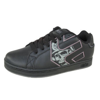 boty ETNIES - METAL MULISHA vengeance - BLACK/GREY/WHITE