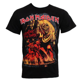 tričko pánské Iron Maiden - The Number of the Beast - ROCK OFF - IMTEE12MB