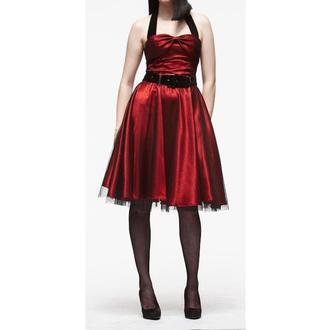 šaty dámské HELL BUNNY 'Songstree Dress (RED/BLACK), HELL BUNNY