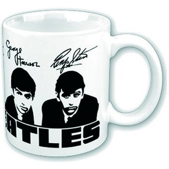 hrnek Beatles - Portrait Signatures Boxed Mug - ROCK OFF, ROCK OFF, Beatles