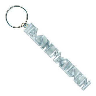 klíčenka (přívěšek) Iron Maiden - Logo with No Tails Key Chain - ROCK OFF - IMKEY02