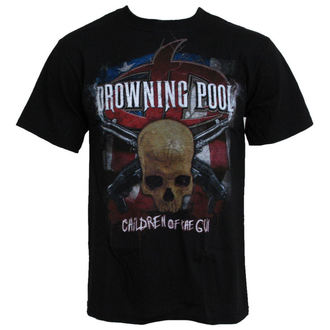 tričko pánské Drowning Pool - Children Of The Gun - LIQUID BLUE, LIQUID BLUE, Drowning Pool