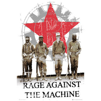 plakát - Rage Against The Machine - Starsoldiers - LP1405, GB posters, Rage against the machine