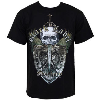 tričko pánské Black Label Society - Skull Shield, BRAVADO, Black Label Society