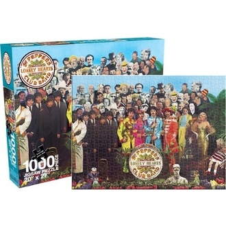 puzzle Beatles - Stg. Pepper (1000 dílků), Beatles