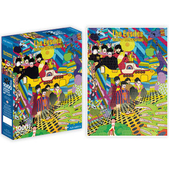 puzzle Beatles - Yellow Submarine (1000 dílků), Beatles