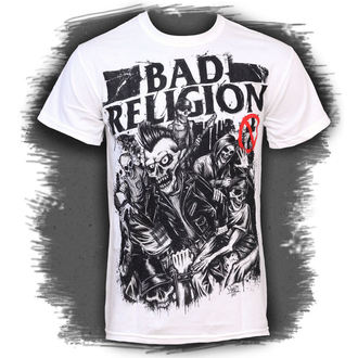 tričko pánské Bad Religion - Mosh Pit Europe - White - LIVE NATION - PE12176