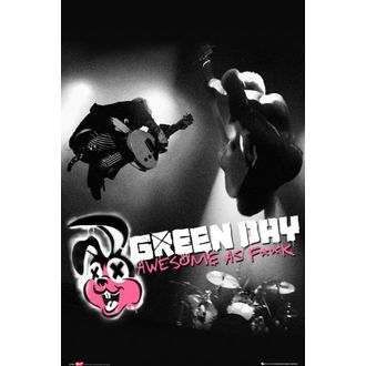 plakát Green Day - Awesome As - LP1459, GB posters, Green Day