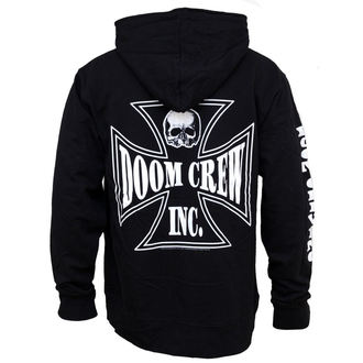 mikina pánská se zipem Black Label Society - Doom Crew, BRAVADO, Black Label Society