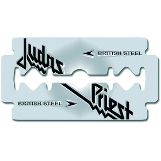 připínáček Judas Priest - British Steel Razor Blade - ROCK OFF, ROCK OFF, Judas Priest