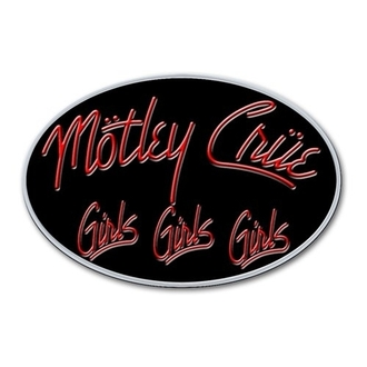 připínáček Motley Crue - Girls Logo - ROCK OFF
