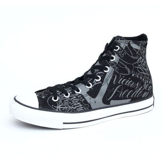 boty CONVERSE - Chuck Taylor All Star - Black/Charcoal, CONVERSE