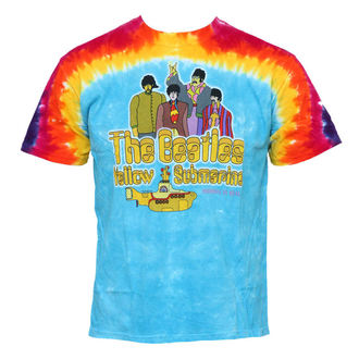 tričko pánské Beatles - Yellow Submarine - LIQUID BLUE