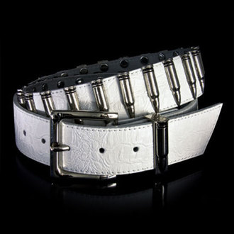 pásek ARMOURDILLO - Bullet White Nickel 5050 - Wht/Nick, Armourdillo