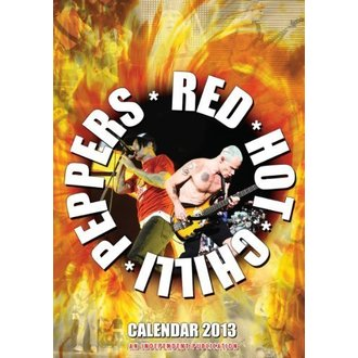 kalendář na rok 2013 - Red Hot Chilli Peppers, Red Hot Chili Peppers