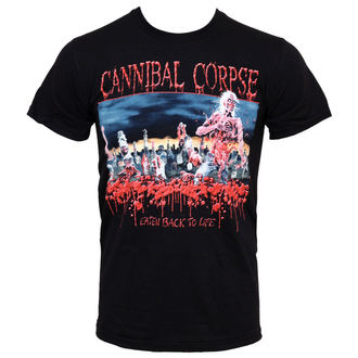 tričko pánské Cannibal Corpse - Eaten Back To Life - PLASTIC HEAD, PLASTIC HEAD, Cannibal Corpse
