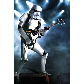 plakát Star Wars - Storm Trooper Guitar - GB Posters, GB posters