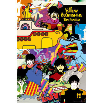 plakát The Beatles - Yellow Submarine - GB Posters, GB posters, Beatles