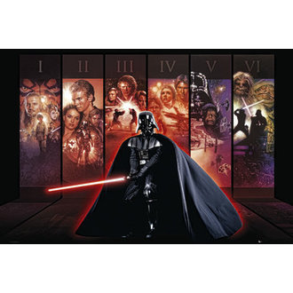 plakát Star Wars - Anthology - GB Posters, GB posters