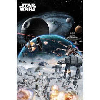 plakát Star Wars - Battle - GB Posters, GB posters