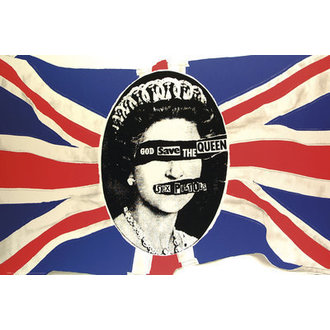 plakát Sex Pistols - God Flag - GB Posters, GB posters, Sex Pistols