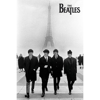 plakát The Beatles - In Paris - GB Posters, GB posters, Beatles
