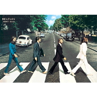 obraz 3D The Beatles Abbey Road - GB Posters, GB posters, Beatles